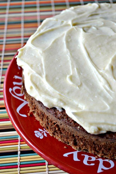 Apple Spice Cake (Spelt Flour) with Maple Cream Cheese Frosting ...