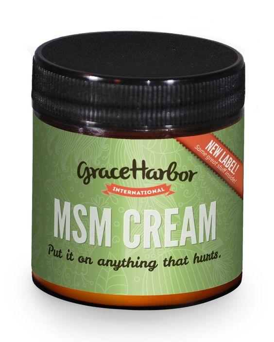 Grace Harbor Farms MSM Cream