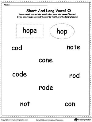 Vowels: Short or Long E Sound Words | The shorts, The o'jays and Words