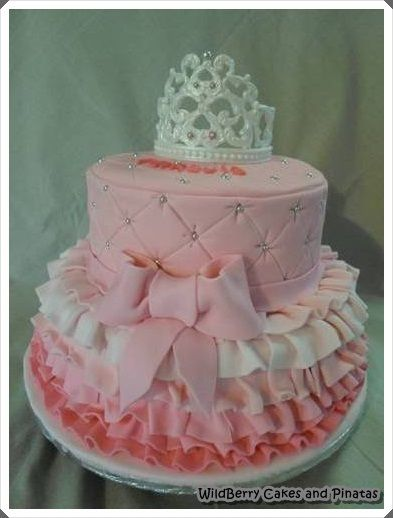 Cakes Tutus And Tiaras On Pinterest. Tutu And Tiara Cake Baby Shower .