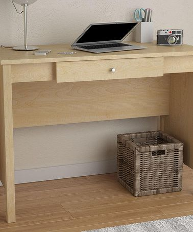 Look what I found on #zulily! Sycamore Maple Altra Desk #zulilyfinds