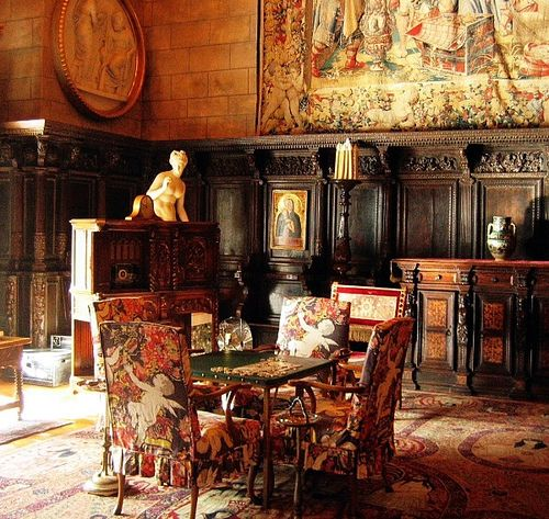 The Morning Room Inside Castles Castle Wall Lodge Decor