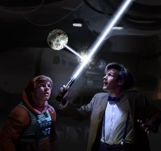 Star Wars - Doctor Who crossover -- so freaking awesome