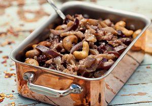 Curinga na cozinha, a berinjela pode virar um antepasto agridoce rápido e fácil de fazer