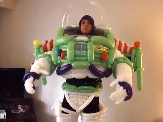 Amazing Buzz Lightyear Balloons Costume