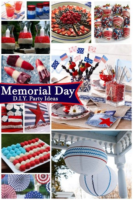 Memorial Day party ideas: