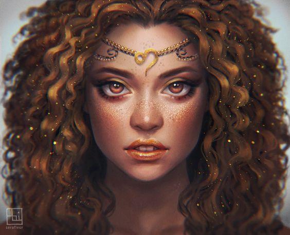 Leo - Zodiac, Abigail Diaz on ArtStation at https://www.artstation.com/artwork/Oxd4v