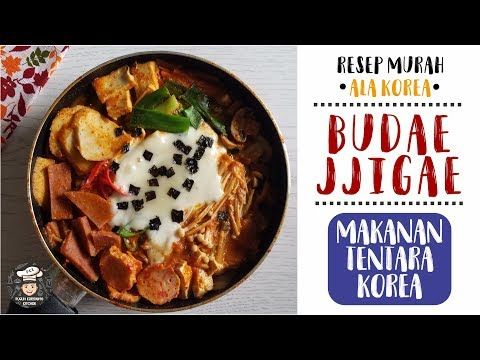 Resep Makanan Korea Ter Mudah Budae Jjigae Simple Murah Banget Youtube Resep Makanan Korea Resep Makanan Makanan