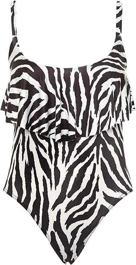 Yours Zebra Print Swimsuit