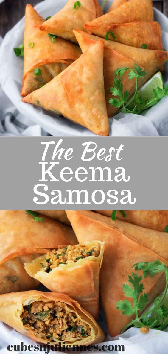 The BEST Keema Samosa Recipe!