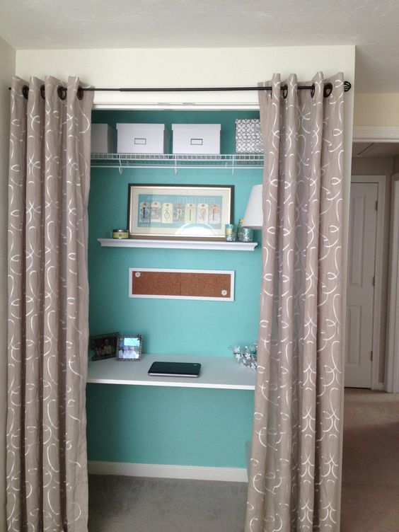 Pinterest the world s catalog of ideas - Closet doors for small spaces pict ...