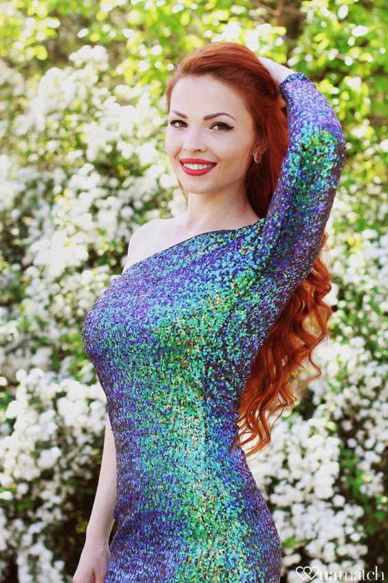 Beautiful ukrainian girl Marina from: Nikolaev, 24yo, hair color Red