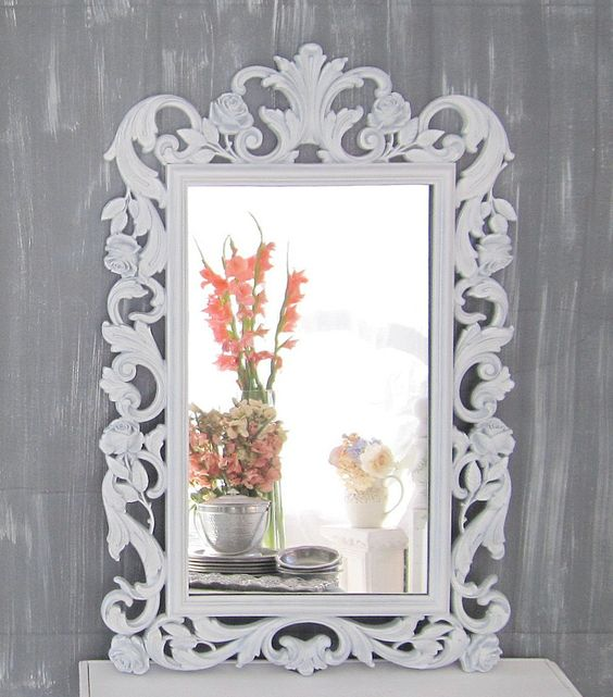 hollywood regency mirror for sale white french country. Black Bedroom Furniture Sets. Home Design Ideas
