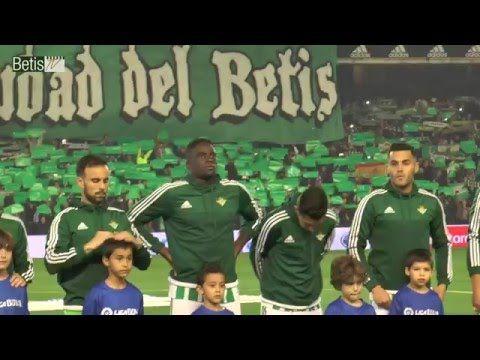 Himno del Real Betis en el partido contra el Sevilla. Temporada 2015-2016
