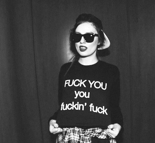 F*ck You Sweatshirt