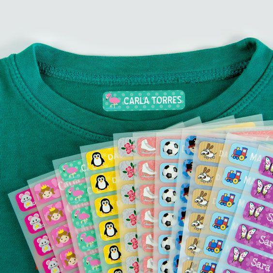 Etiquetas Para Marcar Ropa Pequeñas Etiquetas Para Marcar Ropa Etiquetas Personalizadas Para Ropa Marcas Ropa Niños