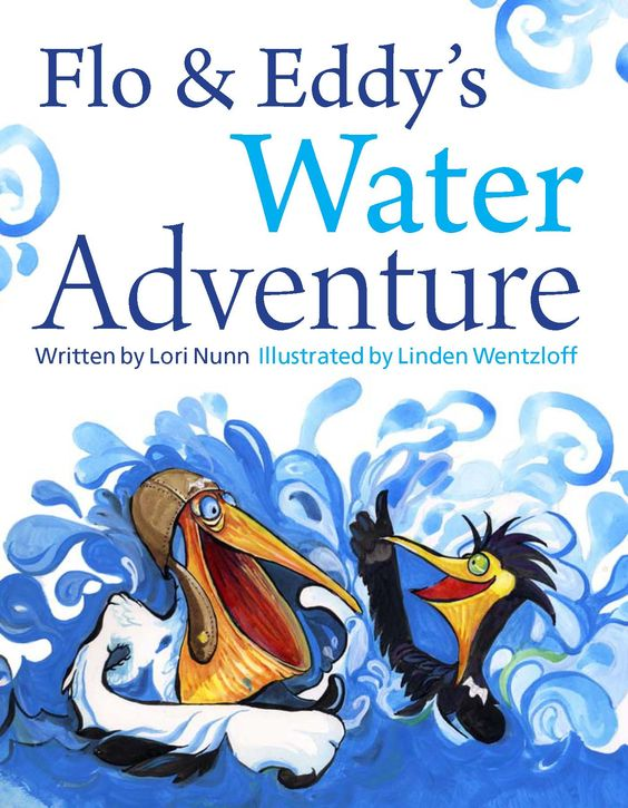 The journey of fresh water from source to sea through the the bird's eye views of a clumsy pelican and young crazy cormorant! The importance of our freshwater supply to our earth! Published by Rocky Mountain Books!