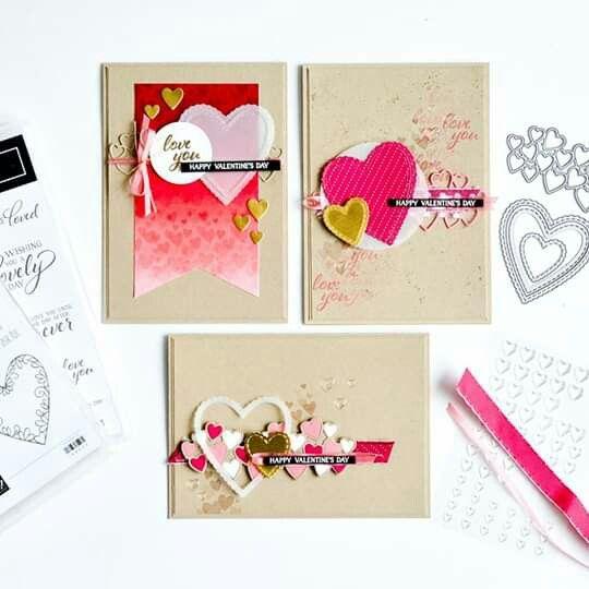 ** beau papier rose//embellissements set pour artisanat
