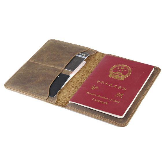 Slim travel passport