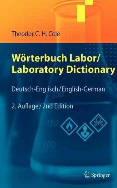 Worterbuch Labor / Laboratory Dictionary: Deutsch/Englisch - English/German