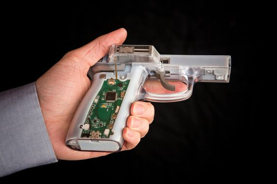 The technology exists to prevent children from firing guns, but under gun lobby pressure, the industry has not used it.