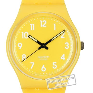 Swatch Lemon-Time GJ128 - 2010 Spring Summer Collection