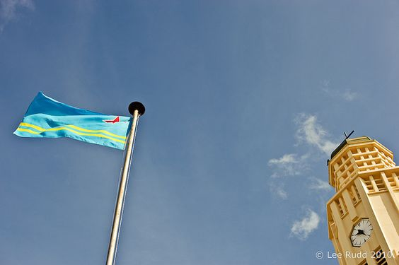 flag day aruba 2015