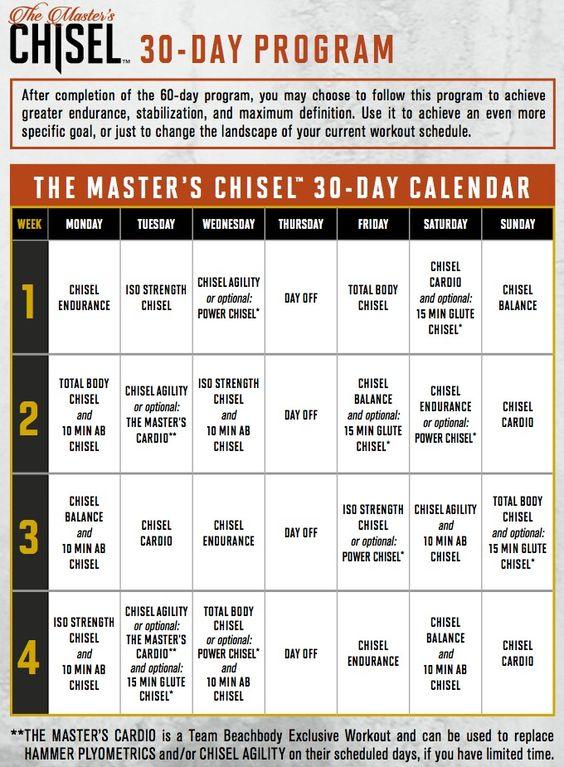 17 Best images about Beachbody workout calendars on Pinterest