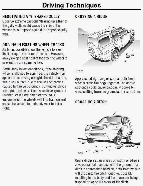 My 4x4 Freelander: Driving Techniques - Part I