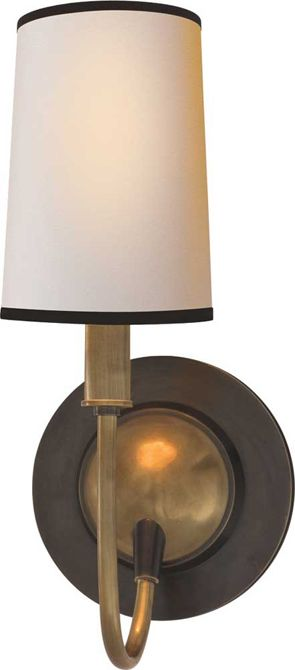 Circa Lighting - Elkins Sconce $252 retail. Master bath or study?