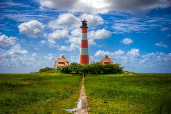 "500px / Photo ""westerhever lighthouse #3"" by Sascha Neuroth"