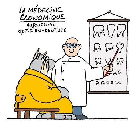 Nouvelle spécialité de la médecine économique
