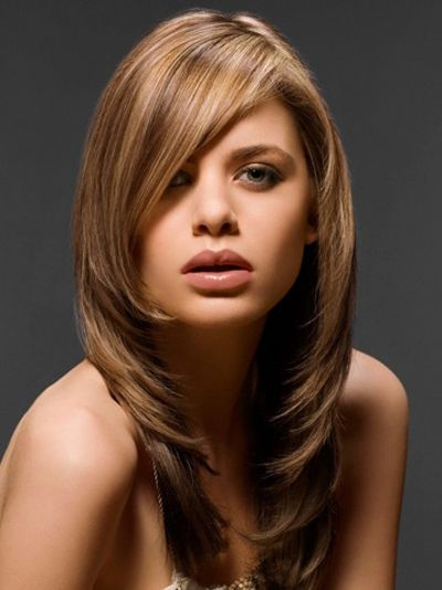 Cool Long Hairstyles My Hair And Love This On Pinterest Short Hairstyles Gunalazisus