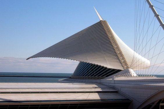 Milwaukee Art Museum Addition - Santiago Calatrava