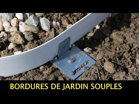 Tuto Comment Poser Bordures De Jardin Souples Pvc Galva Corten Apanages Bordures Galva Jardin Bordure Jardin Bordure De Jardin Bordure Gazon