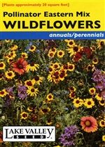 Gift idea - Flower Seed - Wildflowers Pollinator Eastern Mix from lakevalleyseed.com