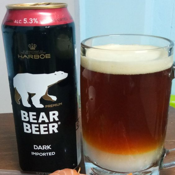 Bia Gấu Bear Beer Dark Imported