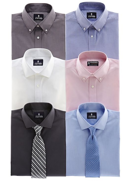 Pinterest the world s catalog of ideas for Stafford dress shirts fitted