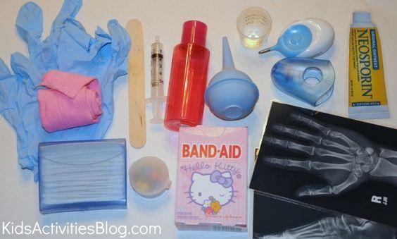 pretend doctors kits for kids!