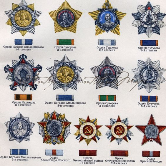 Russian Medals 20