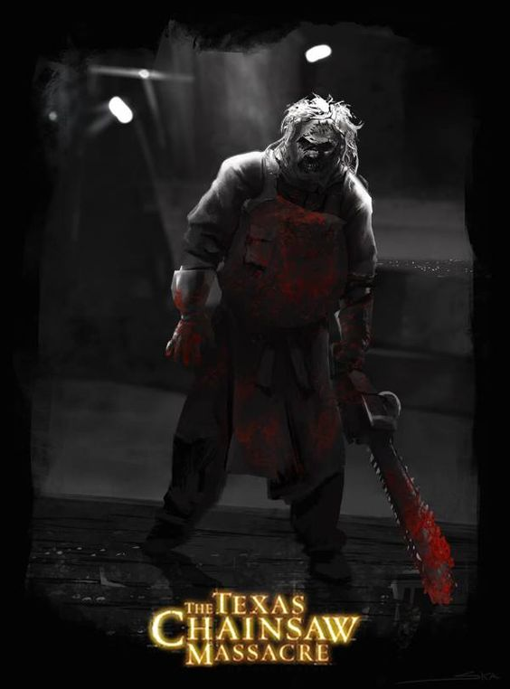 Leatherface ~ Mes del Horror // Kanniz Lab by JKR , via Behance