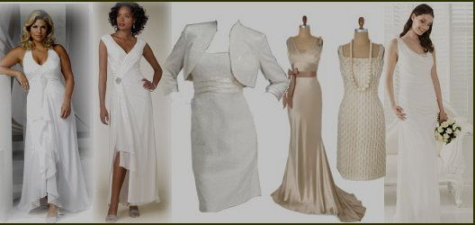 Ideas for a wedding dress for your Encore (aka Second) Wedding!