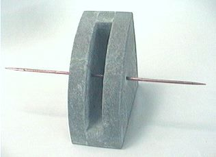 Slotbox one of several small object cast concrete for Small concrete projects