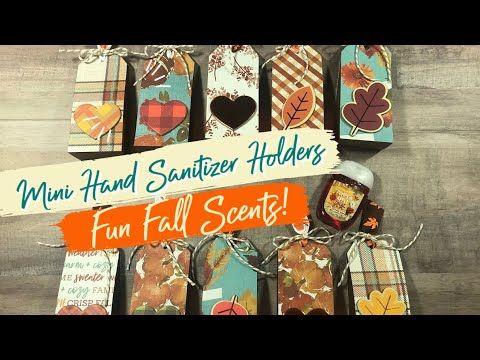 Christmas Craft Fair Ideas 2020 Youtube Craft Fair Idea #4: Mini Fall Sanitizer Holders 🍁🍃 Craft Fair
