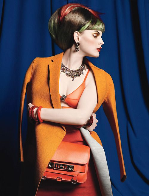Photograph by Michael Thompson; styled by Lori Goldstein; W magazine September 2011.