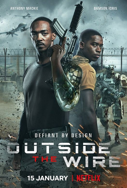 Netflix S Outside The Wire Review Is It Worth A Watch In 2021 The Wire Movie Netflix Original Movies Anthony Mackie