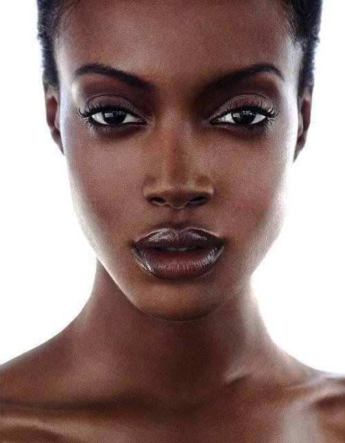 Beautiful Black woman.