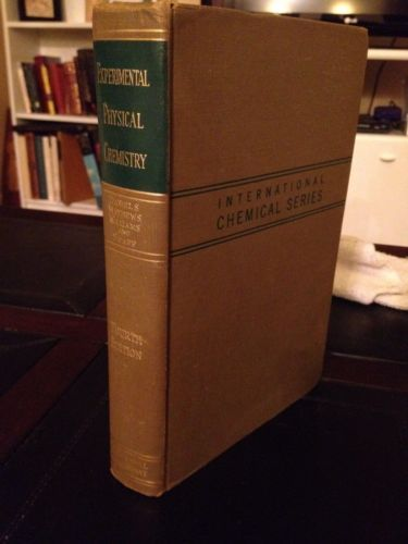 1949 Experimental Physical Chemistry. (Vintage Science Textbook) Engineering