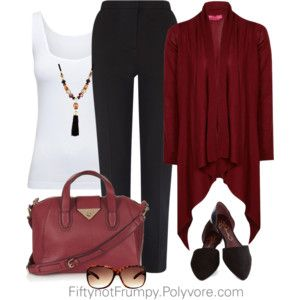 look for waterfall burgundy sweater. This is so nice.