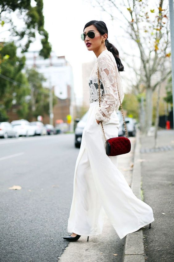 Whites After Labor Day...the MOST fabulous bloggers are decked out in one out lovely after another. #fashion #white #laborday